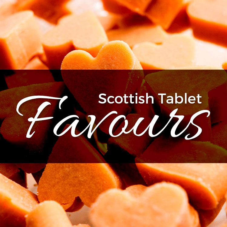 Heart Shaped Scottish tablet favours Ayrshire